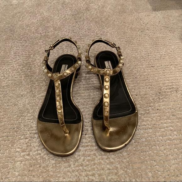 dc87371f3548 Balenciaga Shoes - BALENCIAGA Giant studded leather sandal